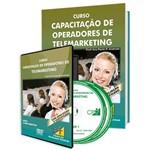 Curso Capacitação de Operadores de Telemarketing em Livro e DVD