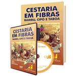 Curso Cestaria em Fibras - Bambu, Cipó, Taboa em Livro e DVD