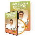 Curso Como Fazer Moldagem em Vidros - para Peças Decorativas em Livro e DVD
