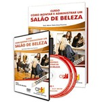 Curso Como Montar e Administrar um Salão de Beleza em Livro e DVD