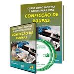 Curso Como Montar e Administrar uma Confecção de Roupas em Livro e DVD
