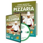 Curso Como Montar e Administrar uma Pizzaria em Livro e DVD