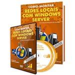Curso Como Montar Redes Locais com Windows Server em Livro e DVD