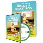 Curso Como Produzir Bolos e Biscoitos em Livro e DVD