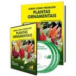 Curso Como Produzir Plantas Ornamentais em Livro e DVD