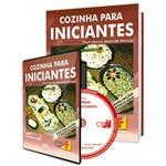 Curso Cozinha para Iniciantes em Livro e DVD