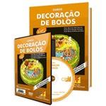 Curso de Decoração de Bolos em Livro e DVD