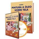 Curso de Pintura a Óleo Sobre Tela em Livro e DVD