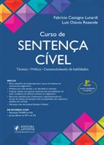Curso de Sentença Cível: Técnica, Prática e Desenvolvimento de Habilidades (2019)