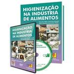 Curso Higienização na Indústria de Alimentos em Livro e DVD