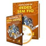 Curso Instalação de Redes Sem Fio (Wireless) em Livro e DVD