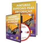 Curso Pinturas Especiais para Decoração em Livro e DVD