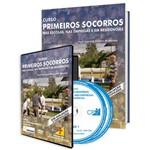 Curso Primeiros Socorros - Nas Escolas, Nas Empresas e em Residências em Livro e DVD
