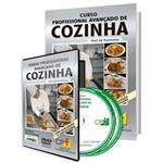 Curso Profissional Avançado de Cozinha em Livro e DVD