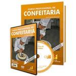 Curso Profissional de Confeitaria em Livro e DVD