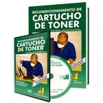 Curso Recondicionamento de Cartucho de Toner em Livro e DVD