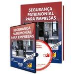 Curso Segurança Patrimonial para Empresas em Livro e DVD