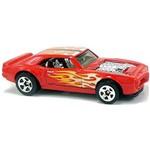 Custom 67 Pontiac Firebird - Carrinho - Hot Wheels - Flames - 5/10 - 128/365 - 2017 - Nrw7z
