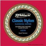 D'addario - Encordoamento de Nylon Alta Hard Tension para Violão Ej27 H