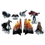 Decoração de Mesa Batman Vs Superman C/ 08 Unidades