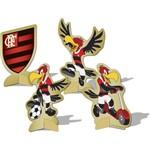 Decoração de Mesa Flamengo C/ 8uni - Festcolor