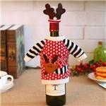 Decoração de Natal para Garrafa de Vinho ou Azeite