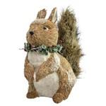 Decoração Natalina - Esquilo 21cm