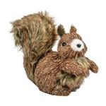 Decoração Natalina - Esquilo Sentado 18cm