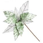 Decoração Natalina - Folha Natalina Verde - 50cm