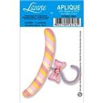 Decoupage Aplique em Papel e Mdf Cabide Apm8-384 - Litoarte