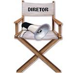 Decoupage Aplique em Papel e Mdf Cadeira Diretor Apm8-148 - Litoarte