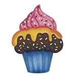 Decoupage Aplique em Papel e Mdf Cup Cake Apm8-111 Litoarte