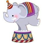 Decoupage Aplique em Papel e MDF Elefante APM12-024 Litoarte