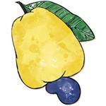Decoupage Aplique em Papel e Mdf Frutas Apm8-122 Litoarte