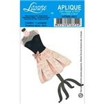 Decoupage Aplique em Papel e Mdf Vestido Apm8-443 - Litoarte