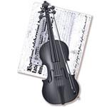 Decoupage Aplique em Papel e Mdf Violino Apm8-166 - Litoarte