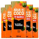 Del Valle Água de Coco com Manga 200ml ( Pack 6 Unidades)