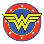 Descanso de Panela Logo da Mulher Maravilha