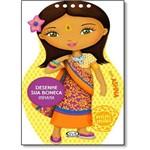 Desenhe Sua Boneca Indiana: Ashna - Coleção Minimiki