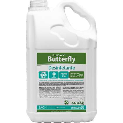 Desinfetante Butterfly Lavanda 5l Audax