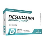 Desodalina 600mg 60ccps - Power Suplements