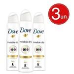 Desodorante Aerosol Dove Invisible Dry Leve 3 Pague 2