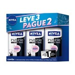 Desodorante Nivea Invisible Black & White Clear Rollon 50ml Leve 3 Pague 2