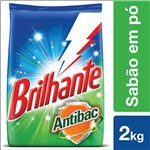 Deterg Po Brilhante 2kg Antibac