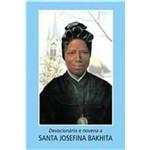 Devocionário e Novena a Santa Josefina Bakhita