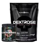 Dextrose 1 Kg + Crossbones 300g- Black Skull