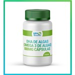 Dha de Algas (omega 3 de Algas) 888mg Cápsulas Vegan 30 Cápsulas Oleosas