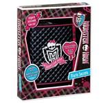 Diário Secreto Eletrônico Monster High - com Travamento Ativado por Voz - Acompanha Caneta de Tinta Invisível - Mattel