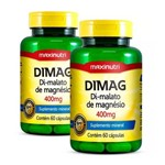 Dimag Di-malato de Magnésio - 60 Cápsulas - Maxinutri