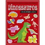 Dinossauros - Livro de Atividades e Adesivos